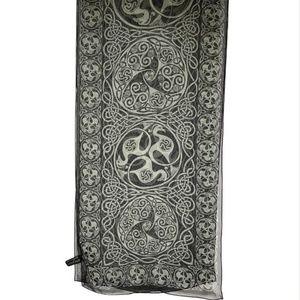 Keltic Designs Jen Delyth Silk Scarf Birds